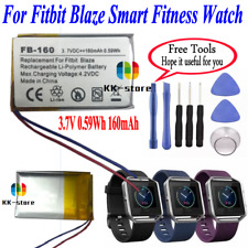 3.7v 0.59Wh 160mAh Replacement Battery For Fitbit Blaze Smart Fitness Watch