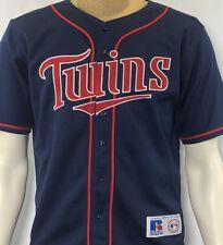 a7204fe160e Minnesota Twins Torii Hunter MLB Stitched Baseball Jersey Youth Large 14-16