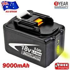 18V 9.0AH Battery For MAKITA LXT Lithium BL1890B BL1860B BL1830 BL1850B LED Gaug