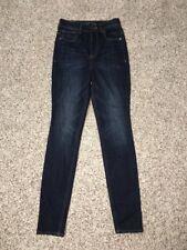 Express Womens Jeans Legging Sz 0 Reg Inseam 30 Super High Rise Button Fly NWOT