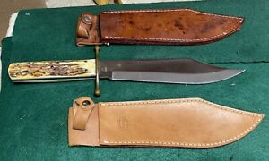 Vintage / Discontinued / limited =   KA-BAR=J.BOWIE=STAG=New Old Stock=8001 st=W