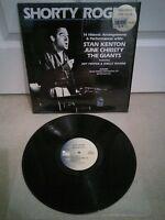 """Shorty Rogers 14 Historic Arrangements & Performances Vinyl 12"""" LP Pausa US 1983"""