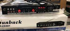 Sunbuck 110V 5CH AV-298BT Digital amplifier
