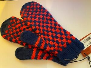 New Jack Spade Checkerboard Mittens, Winter Gloves, NWT $65