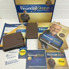 Dave Ramsey Financial Peace University Membership Kit 16 CD Book Home Study
