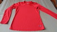 Mountain Hard Wear Women's Long Sleeve T-shirt - Orange -   Size Small - S