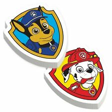 12 x Paw Patrol Chase Marshall Party Loot Bag Fillers Boy Girl Birthday Erasers