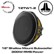 "JL Audio 12tw1-2 - 12 "" 300 WATT Shallow Subwoofer Mount SUBWOOFER BASS"