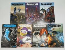 Absolution Rubicon 1-5 Complete Set w/ Variant Extras Avatar Press Comic Book