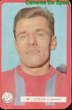 027 EDOUARD STAKO STADE FRANCAIS 92 FOOTBALL CARTE MIROIR SPRINT 1960's RARE