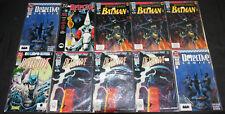 BATMAN IN DETECTIVE COMICS LOT 112PC (VF-NM)