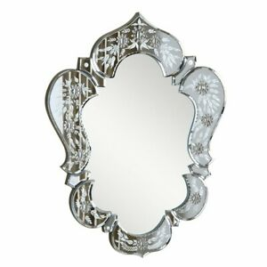 "Elegant Décor Venetian 20.7"" Transitional Mirror, Clear - MR-2011C"