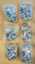 Vintage Toy Story Burger King Toys Set lot 6 NIP Buzz lightyear Woody Collection