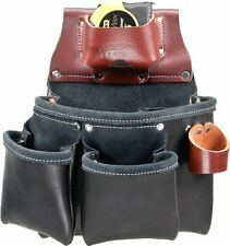 Occidental Leather B5018Db 11-Pocket Right Hand All Leather Black Pro Tool Bag