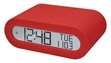 Orologio Sveglia radiocontrollato Oregon Scientific Rrm116 con Radio FM Rosso