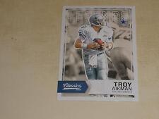 Panini Troy Aikman Dallas Cowboys Original Football Cards