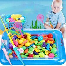 Magnet Angelspiel Wasserspiel Fische Angeln Lernspiel für Kinder ab 3 Jahre