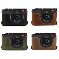 MegaGear Ever Ready Genuine Leather Camera Case compatible with Leica Q2