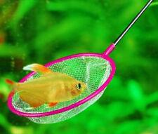 Épuisette Ronde Aquarium Poisson filet Pêche 36 Cm. Diamètre 10 Cm. Jouet Enfant