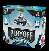 2020 Panini Playoff Football 1 HOBBY BOX Break #008 - 2 Random Team Per Spot