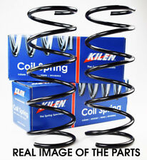 FORD FOCUS MK1 1998 - 2004 KILEN FRONT AXLE COIL SPRINGS PAIR SUSPENSION