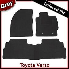 Toyota Verso 2009 2010 2011 2012 onwards Tailored Fitted Carpet Car Mats GREY