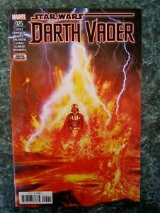 Star Wars: Darth Vader #25 KEY! Anakin Skywalker Origin NM+ (2017 MARVEL COMICS)