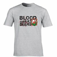 Wales Rugby Supporters T Shirt Blood, Sweat And Beers Six Nations Sports