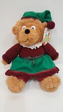 Berenstain Bears Bear Holiday Plush Stuffed Brother Animal 17 Inch with Tags