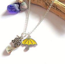 Cómo conocí a tu madre inspirado paraguas de plata encanto Collar Regalo De Ventilador-Reino Unido
