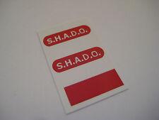 Dinky 351 Shado U.F.O.  [ Red Round ] Stickers - B2G1F