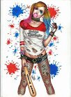 Harley Quinn - Superman - DC Comics - Original art by Marcelo Tchello