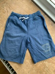 GapKids trackpant shorts. Navy Blue. Size XL (12 Years). Decent Condition