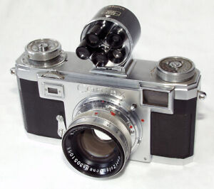 Contax IIa with Sonnar 5cm/2 and Universal finder 440