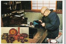 Unidentified Japanese Studio Potter Advertising Postcard, Unposted, c 1980's