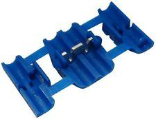 6x Cosse connecteur raccord électrique rapide 0.75-2.5mm2 isolée bleu