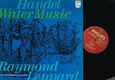Handel WATER MUSIC Raymond Leppard Eng Chamber Orch Philips HOLLAND 6500 047 N/M