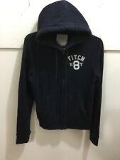 Abercrombie men's size medium hooded zipper front hoodie