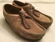 Clarks Wallabees Tan Low Womens 8.5 35395
