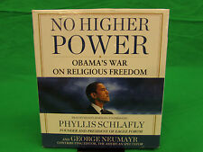 No Higher Power: Obama's War on Religious Freedom Audio CD – Audiobook, Unabrid