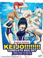 DVD  English Version / Dubbed ANIME KEIJO!!!!!!!! VOL. 1-12 END + FREE SHIPPING