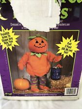 Fun World Halloween Pumpkin Door Greeter- 2 Feet Tall With Posable Arms