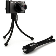 MINI tavolo Treppiede flessibile per fotocamere compatte digitali con Clip tasca Cintura