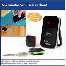 Akustischer Schlüsselfinder 3er Set Key Finder Schlüsselanhänger Funk Schlüssel