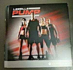 Les Mills Pump DVD Fitness Authentic Replacement Cardio Set 7 Discs