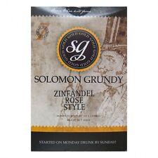 Solomon Grundy Gold 30 bottle homebrew wine kit Choice and multipack bargains
