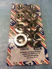 APE TVSRH750 TITANIUM VALVE SPRING RETAINERS HONDA CB750 SOHC DRAGBIKE