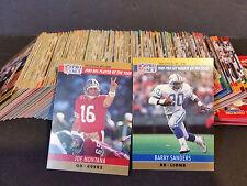 1990 NFL Pro Set Series 1 Complete Set #1-378 - NFL
