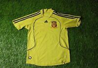 SPAIN NATIONAL TEAM 2008/2010 FOOTBALL SHIRT JERSEY AWAY ADIDAS ORIGINAL YOUNG S
