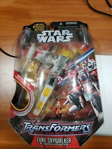 MoSC Hasbro Star Wars Transformers - Luke Skywalker X-Wing Fighter Brand New